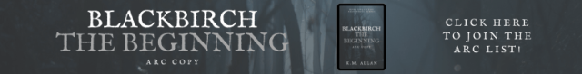 K.M. Allan Blackbirch ARC Banner